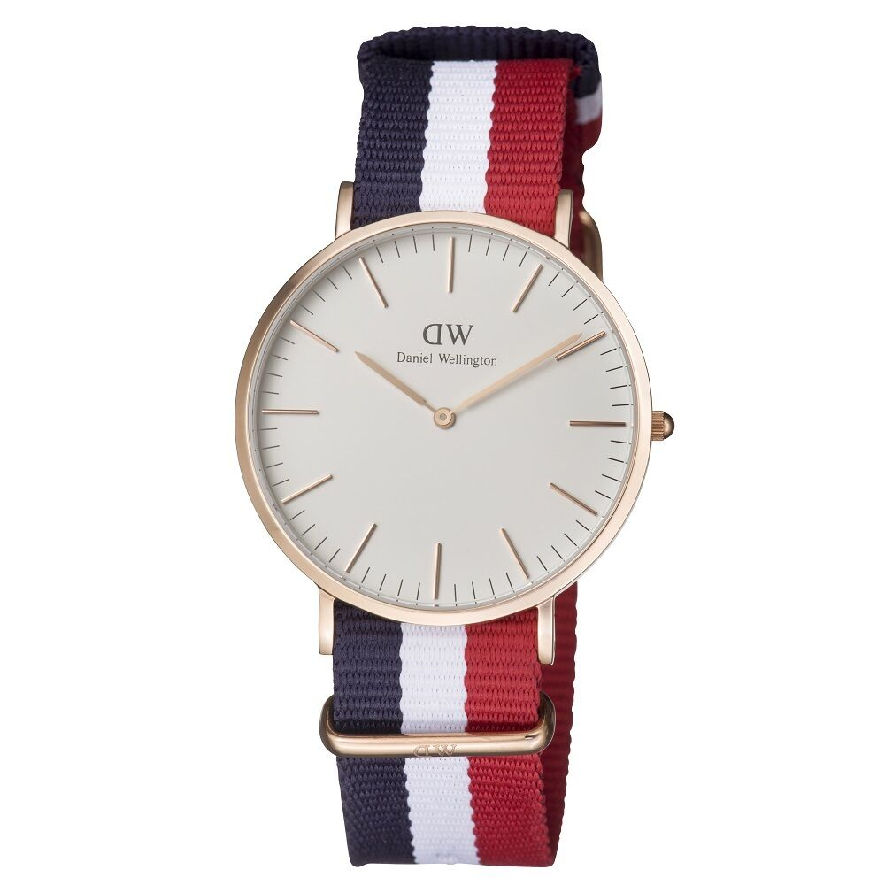 New Daniel Wellington Classic Cambridge Rose Gold Men's 40mm Watch 0103DW