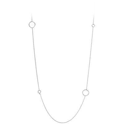 Gorjana Quinn Delicate Wrap Necklace In Silver 188105S