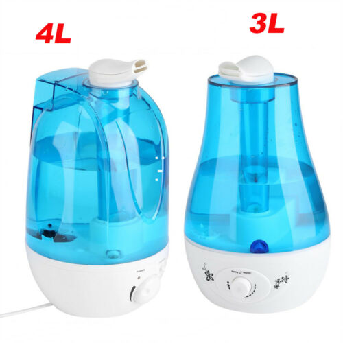 3L/4L Ultrasonic Humidifier Diffuser Home Mist Maker Air Pur