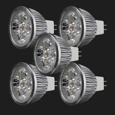5PCS New LED Spotlight Bulb Lmap MR16 4W 12V Warm White Spot Light Energy Saving