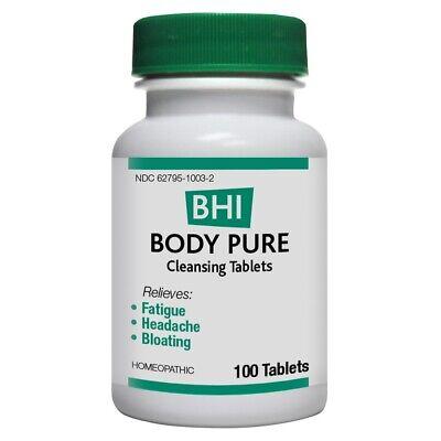 BHI Body Pure MediNatura 100 Tabs Body Pure 100 Tablets