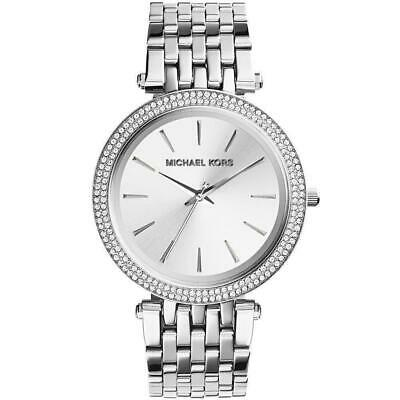 Michael Kors Darci MK3190 Silver Glitz Wrist Watch for Women