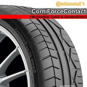 NEW 255/35ZR20 Continental ContiForceContact Streetable Track & Competition  #: 03569090000