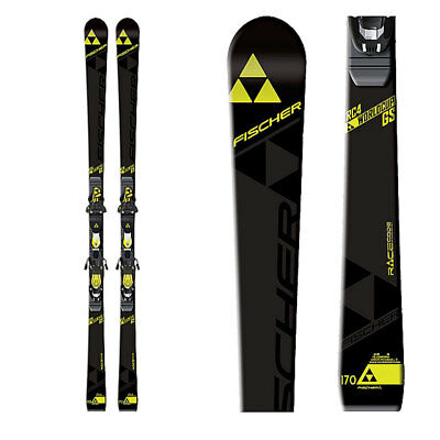 Plate Jr Race Skis - 2017 Fischer RC4 WC GS JR 155cm Race Skis with Race Plate  -  No Binding A10016