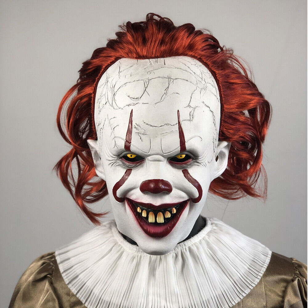 2019 pennywise joker mask it chapter two