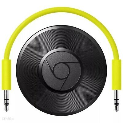Google Chromecast Audio 2nd Generation Music Streamer - Best Streaming device.