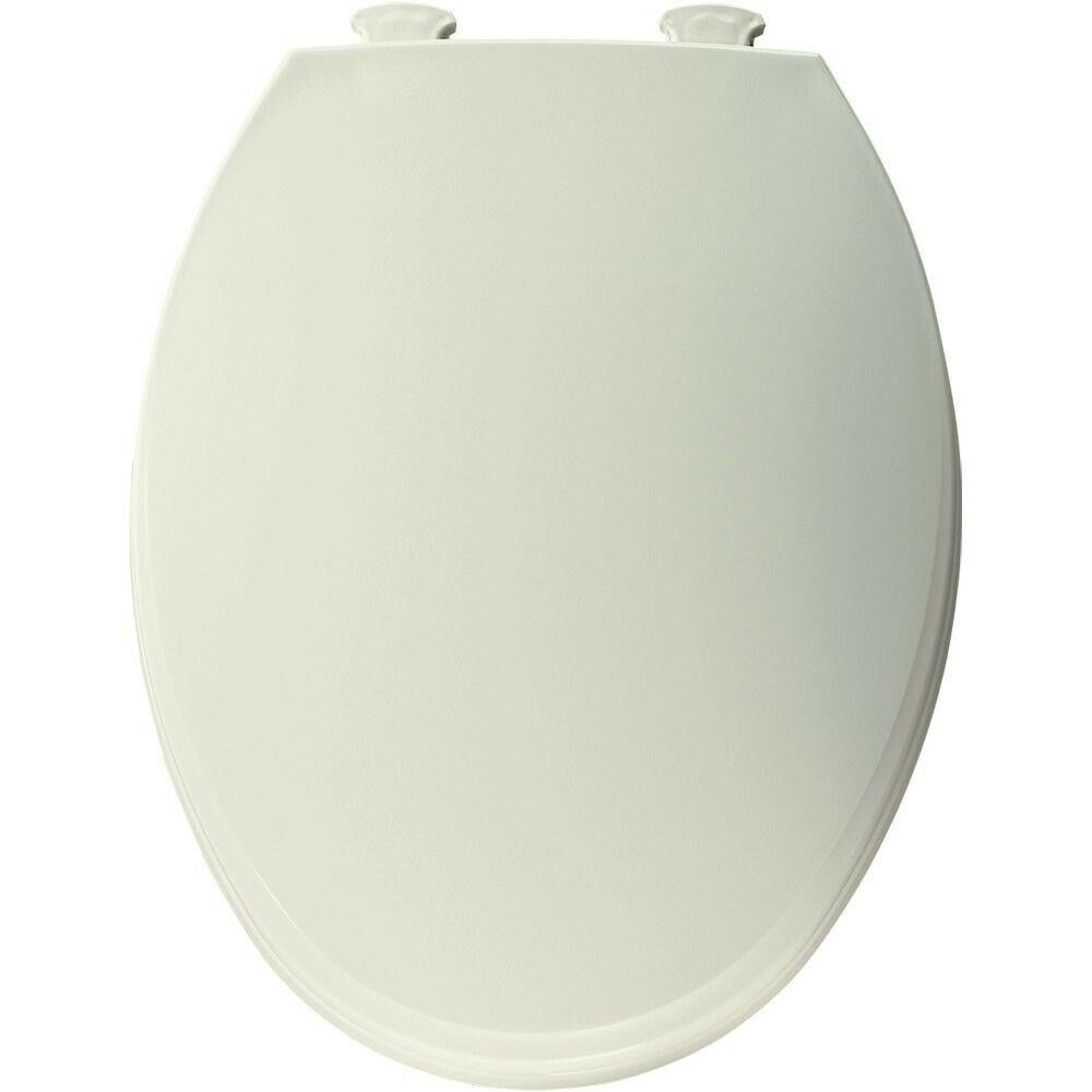 Church Round Closed Front Toilet Seat in Biscuit/Linen 130EC