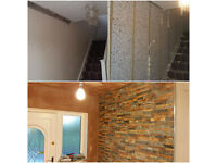 DRIVEWAYS, PLASTERING, FLOORING, TILING, WINDOWS & DOORS, FENCING, CHIMNEY BREST REMOVAL