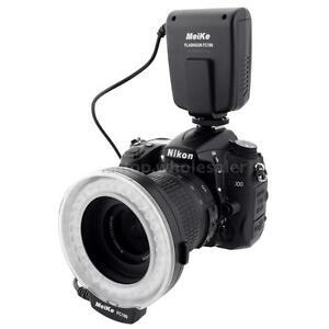 Meike FC-100 Macro Ring Flash/Light LED for Canon Nikon Pentax Olympus Panasonic