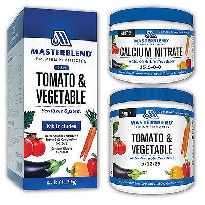 MASTERBLEND Official 4-18-38 Tomato & Vegetable Fertilizer COMBO - Tomato Kit