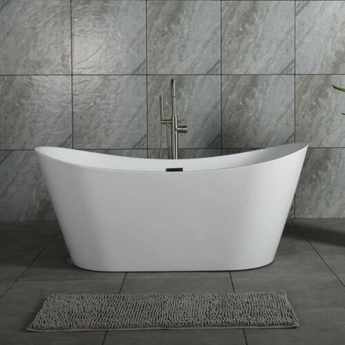 "Woodbridge 67"" Freestanding Bathtub Contemporary Soaking Tub BTA1515-C"