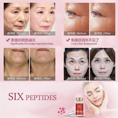 Argireline Aloe Vera Collagen Peptides Rejuvenation Anti Wrinkle Face Serum Line