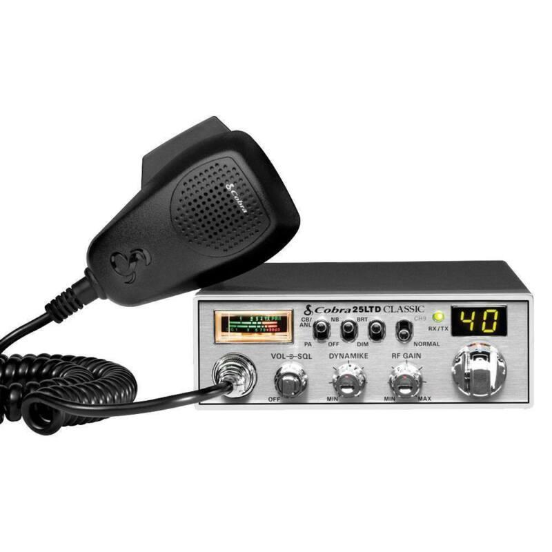 Cobra 25 LTD Classic Professional Midsize CB Radio