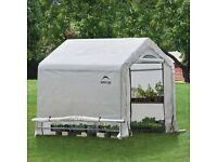 Polyethylene Greenhouse 6ft x 6ft - Easy to erect, ideal for growing tomatoes etc.