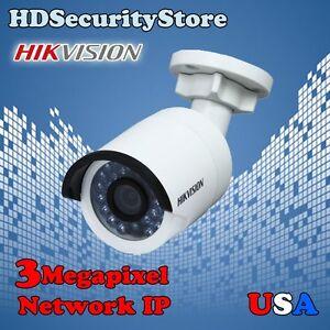 Hikvision 3 Megapixel Network IP Security Camera 3MP IR Bullet DS-2CD2032F-I 4MM