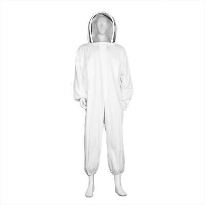 Beekeeping Suit Full Body - Beekeeper Coverall Outfit With Veil Medium