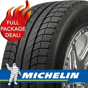 4 MICHELIN X-Ice - P205/55 R16 - Winters on steel rims