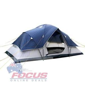 6 Person Family Camping Tent Navy Grey Melbourne CBD Melbourne City Preview