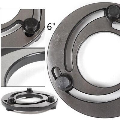 6 Jaw Ring Cnc Lathe Chuck Soft Top Jaws Bore Adjust Hydraulic Pressure Claw