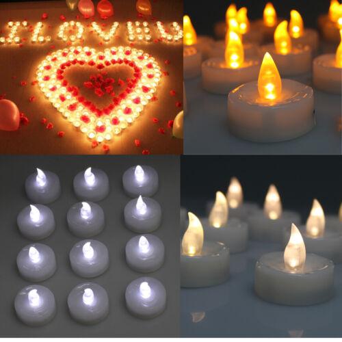 24/60/100 PCS Electronic Tea Light LED Candle for Valentines