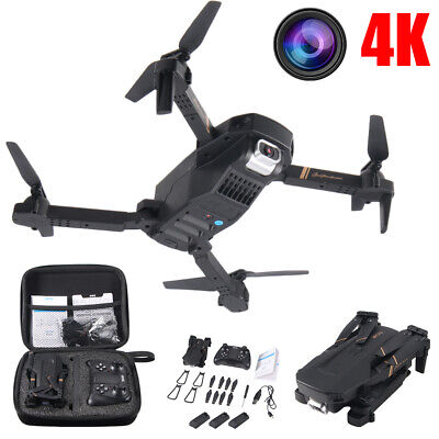 2020 Foldable Mini RC Quadcopter Drone With Gesticulate Control 4K HD Dual Camera