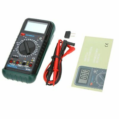 Mastech My63 Handheld Digital Multimeter Dmm Wcapacitance Frequency Hfe Test