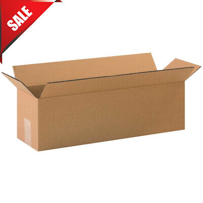 20 X 6 X 6 Long Cardboard Corrugated Boxes 65 Lbs Capacity 200ect-32 Lot 25