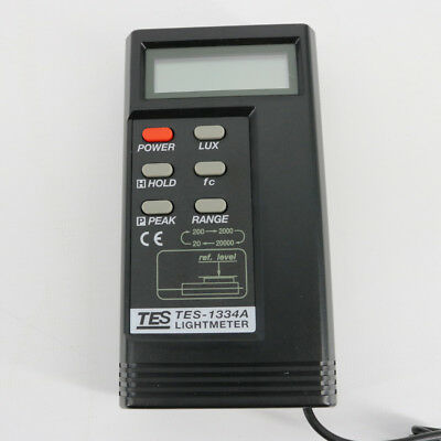 Digital Light Meter Tes-1334a Luxfc Function