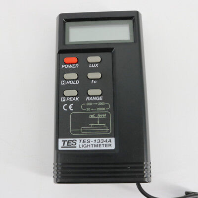 Digital Light Meter Tes-1334aluxfc Function