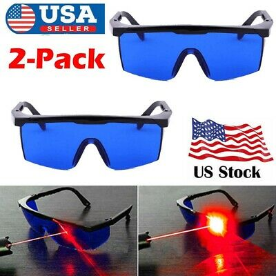 2x Professional Protective Goggles Laser Safety Glasses For He-ne Red Laser