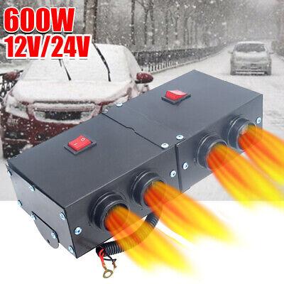 Auto Car Truck Fan Heater Heating 12V 600W Warmer Windscreen Defroster Demister