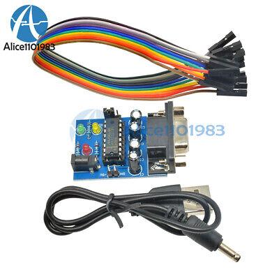 Atmega16 Max232cpe Rs232 To Ttl Converter Module Com Serial Board Transfer Chip