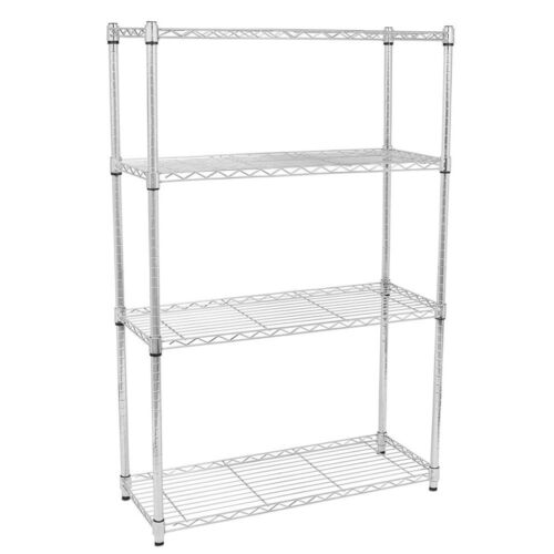 4/5 Tier Storage Rack Organizer Kitchen Shelving Steel Wire