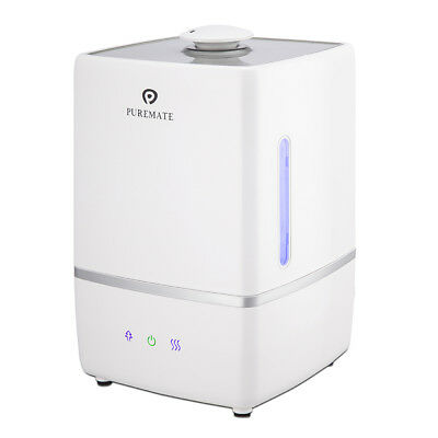 PureMate 5L Ultrasonic Cool & Hot Mist Humidifier Ioniser & Aroma Diffuser PM805