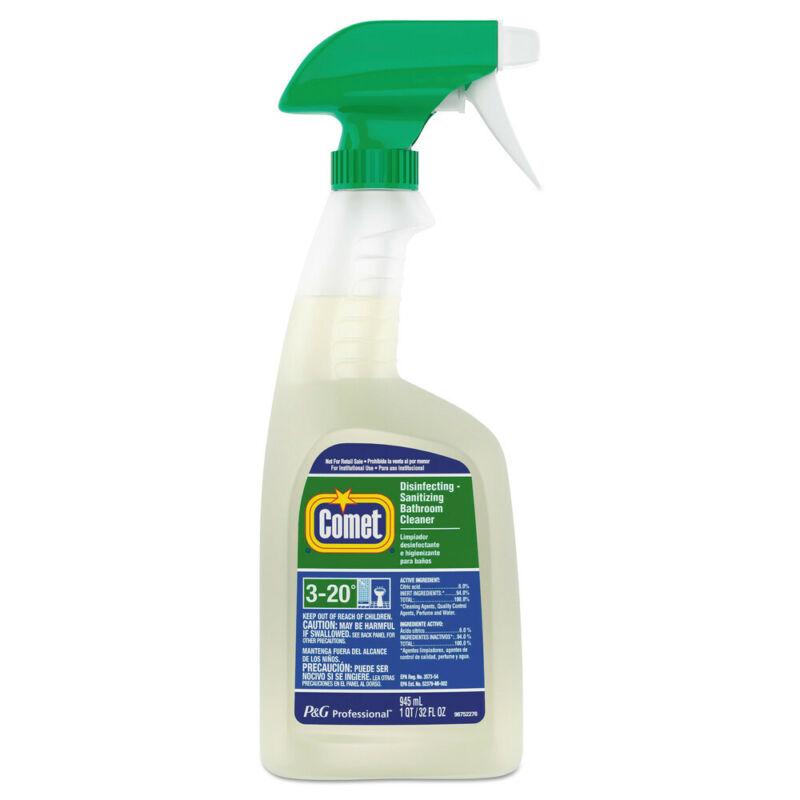 P&G Professional Disinfecting-Sanitizing Bathroom Cleaner, 32 Oz. Trigger Bottle
