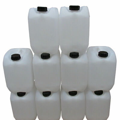 10 litre water carrier jerry can approved drinking water / food safe compact new