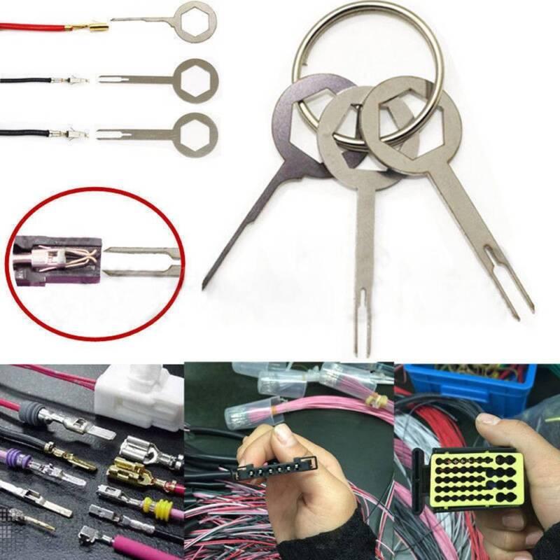 Terminal Outil Extracteur Voiture Câblage électrique sertir Connecteur Pin Extractor Kit CN
