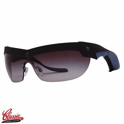 48d64d7cc1b EMPORIO ARMANI SUNGLASSES EA4021 51388G Black Blue Frame CLEARANCE
