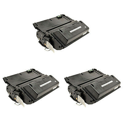 3PK Q5942X 42X Toner Cartridge For HP LaserJet 4250n 4350n 4250tn 4350tn Printer