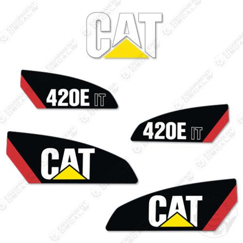 Caterpillar 420 E IT Backhoe Equipment Decals New Style