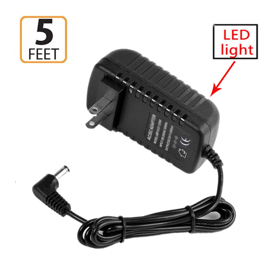 AC Adapter Power Supply Charger Cord for Casio CDP-235R CDP-