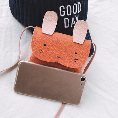 Children Grils Cute Animal Leather Handbag Shoulder Bag Mini Crossbody Bag