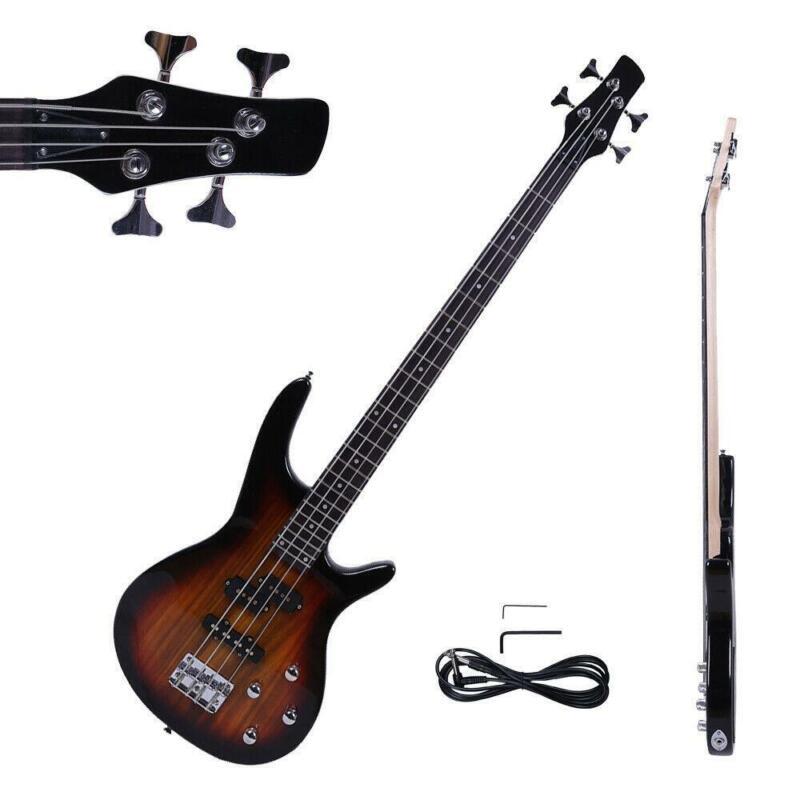 New IB Basswood 24 Frets Electric Bass Guitar Sunset