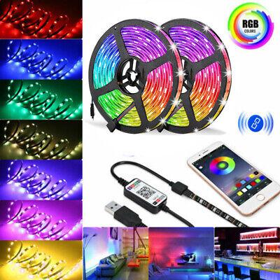LED STRIP LIGHTS 5050 RGB COLOUR CHANGING TAPE UNDER CABINET KITCHEN LIGHTING UK
