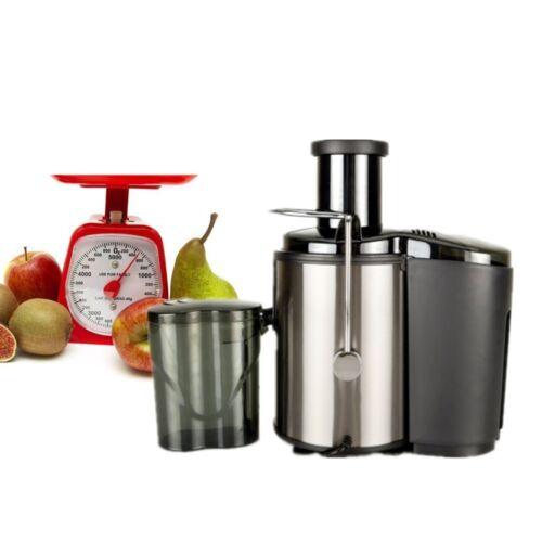 800W 600ML Electric Fruit Veg Juicer Machine Vegetable Extra
