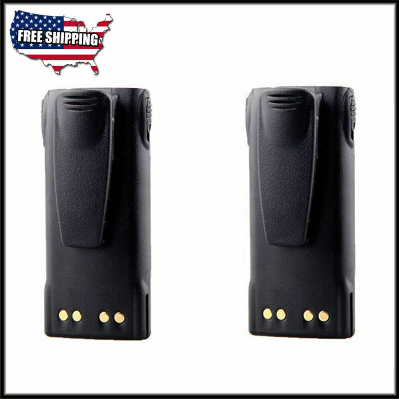 2PCS Li-Ion 2000mAh Battery for MOTOROLA MTX8250 MTX8250LS MTX9250 PR860 PRO5750