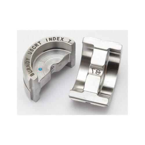 Burndy, U5CRT, U Crimping Die, 5&6 Blue