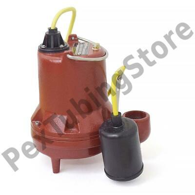 Automatic High Temperature Sump Pump W Float Switch 10 Cord 410 Hp 115v