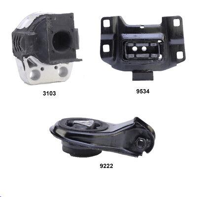 Mount Set 4PCS For Kia Sportage EX Sport Utility FWD 2.7L Engine Motor /& Trans