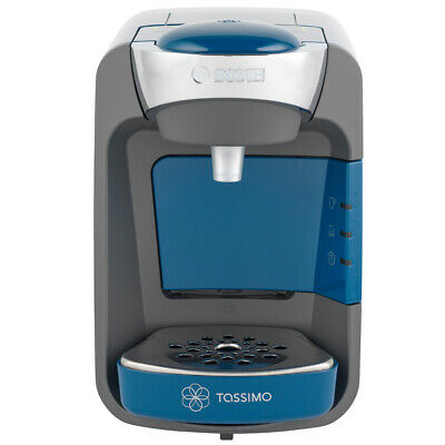 Bosch Tassimo Suny Coffee Machine 0.8L 1300W Blue Home Office Work TAS3205GB